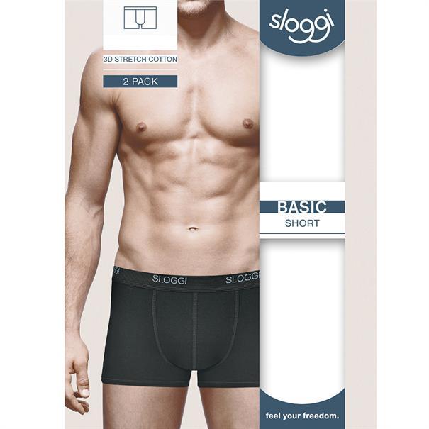 Sloggi Men Basic Short 2-Pack