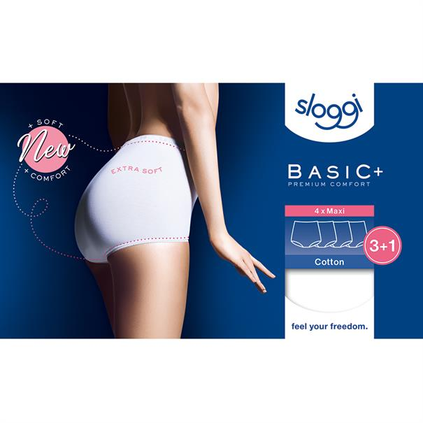Sloggi Women Basic Maxi 4-Pack