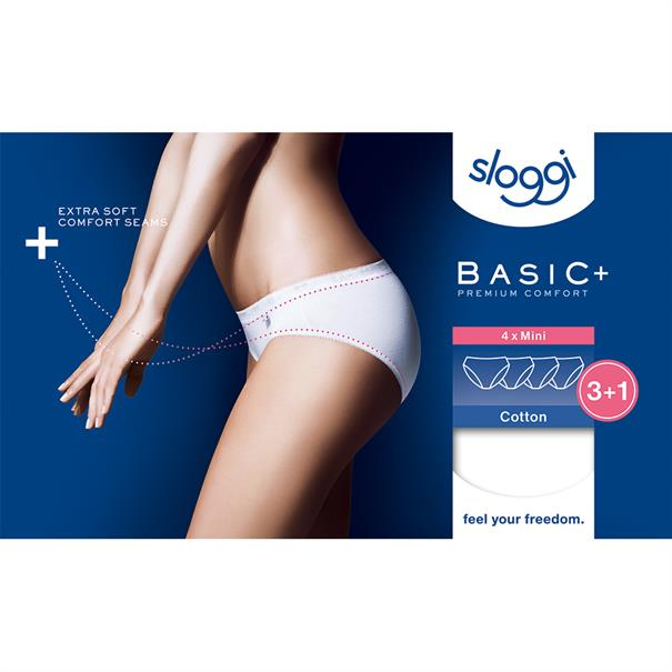 Sloggi Women Basic Mini 4-Pack