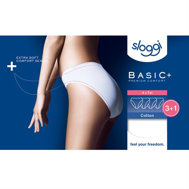 Sloggi Women Basic Tai 4-Pack
